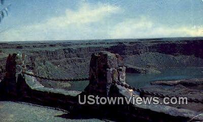 Dry Falls State Park, WA     ;     Dry Falls State Park, Washington Postcard