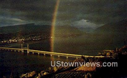 End of the Rainbow - Klickitat County, Washington WA Postcard