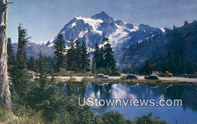 Mount Shuksan - Mt. Baker National Forest, Washington WA Postcard