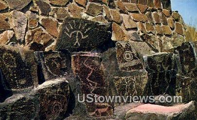 Ginkgo Ancient Picture Writings - Vantage, Washington WA Postcard