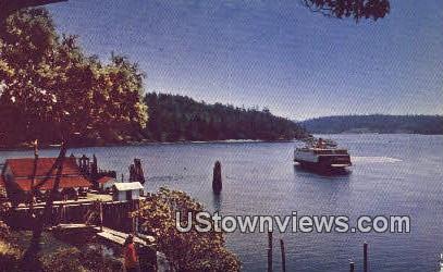 Orcas Island, WA     ;     Orcas Island, Washington Postcard