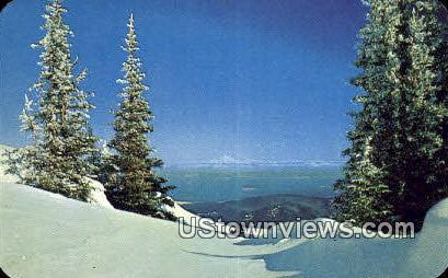 Mt Baker - Deer Park, Washington WA Postcard