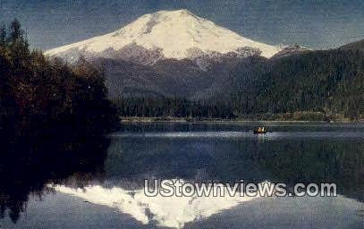 Mount Baker, WA     ;     Mount Baker, Washington Postcard