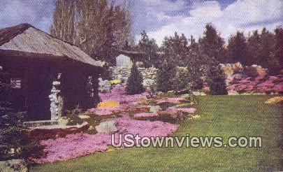 Ohme Garden-in-the-sky - Wenatchee, Washington WA Postcard
