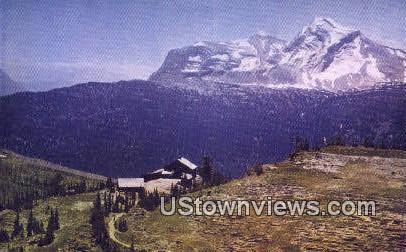 Granite Park Chalet - Glacier National Park, Washington WA Postcard