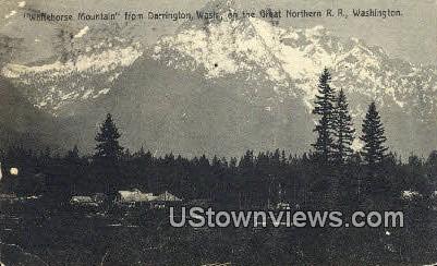 Whitehorse Mountain - Darrington, Washington WA Postcard