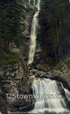 Rainbow Falls - Lake Chelan, Washington WA Postcard