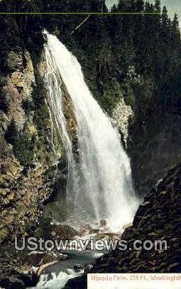 Navada Falls, Washington,     ;     Navada Falls, WA Postcard