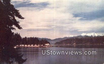 Hood Canal, Olympic Peninsula - Bremerton, Washington WA Postcard
