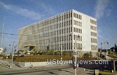 Snohomish County Courthouse - Everett, Washington WA Postcard