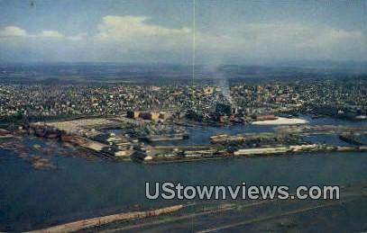 Everett, WA     ;     Everett, Washington Postcard