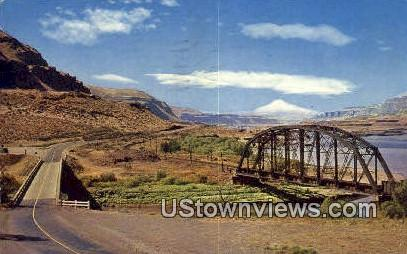 Columbia River Gorge - John Day yRiver, Washington WA Postcard