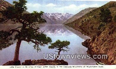 Lake Chelan, Wash,     ;     Lake Chelan, WA - Washington WA Postcard