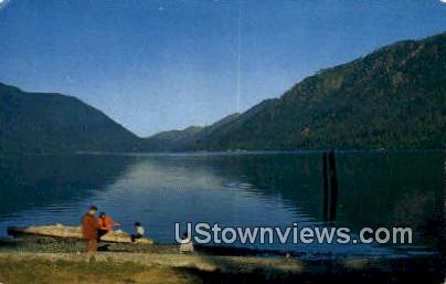 Lake Crescent Lodge - Washington WA Postcard
