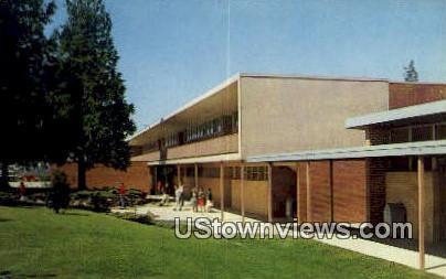 Everett Junior College Science Bldg - Washington WA Postcard