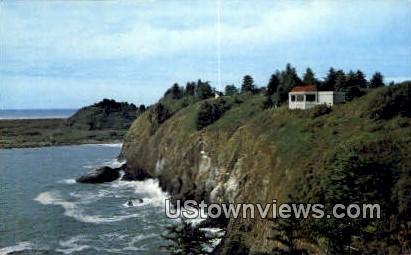 Lewis & Clark Interpretive Center - Fort Canby, Washington WA Postcard