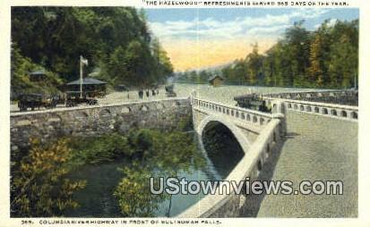 Columbia River Highway - Multnomah Falls, Washington WA Postcard