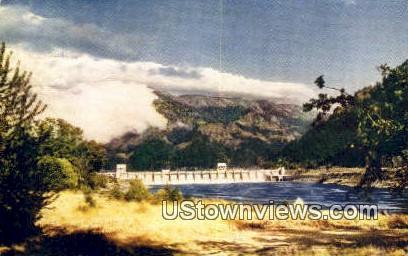 Bonneville Dam, WA     ;     Bonneville Dam, Washington Postcard