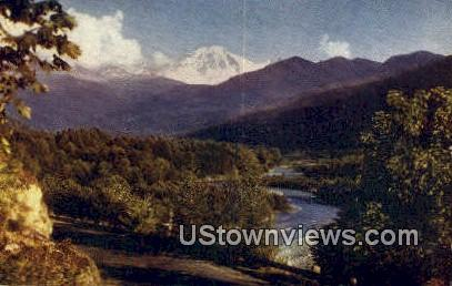 Mount Baker, Washington,     ;     Mount Baker, WA Postcard