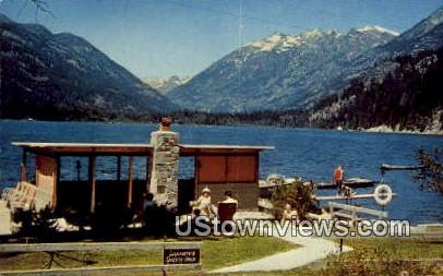 Swissmont Lodge - Stehekin, Washington WA Postcard