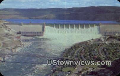 Crown Point - Grand Coulee Dam, Washington WA Postcard