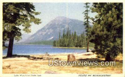 Lake Wenatchee State Park, Wash,     ;     Lake Wenatchee State Park, WA - Washington WA Postcard