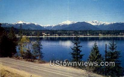 Olympic Mountains, Washington,     ;     Olympic Mountains, WA Postcard
