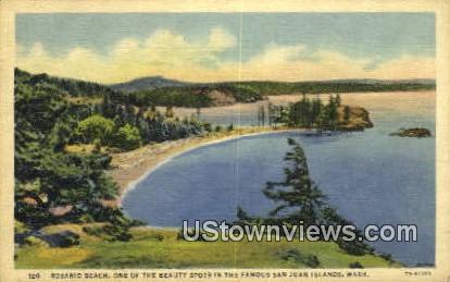 San Juan Islands - Rosario Beach, Washington WA Postcard