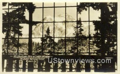 Mt. Shuksan, WA     ;     Mt. Shuksan, Washington - Mt Shuksan Postcard