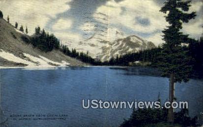 Chain Lake - Mount Baker, Washington WA Postcard