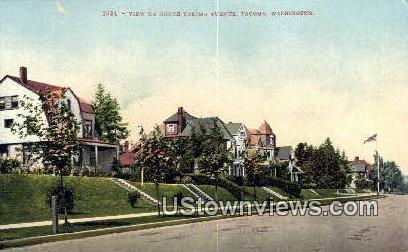 North Yakim Ave - Tacoma, Washington WA Postcard