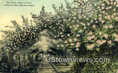 Rose Arbor, Defiance Park - Tacoma, Washington WA Postcard