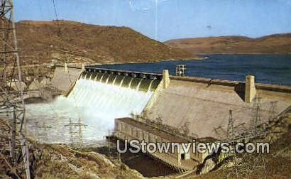 Grand Coulee Dam, Wash,     ;     Grand Coulee Dam, WA - Washington WA Postcard