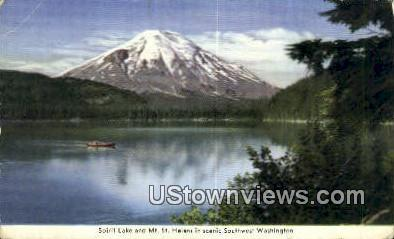 Spirit Lake - Mt St Helens, Washington WA Postcard