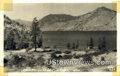 Real Photo  - Lake Chelan, Washington WA Postcard