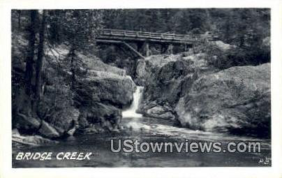 Real Photo  - Bridge Creek, Washington WA Postcard