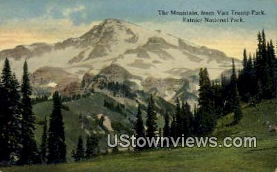 Van Trump Park - Rainier National Park, Washington WA Postcard