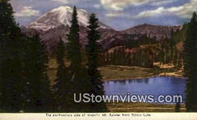 Tipsoo Lake - Mt Rainier, Washington WA Postcard