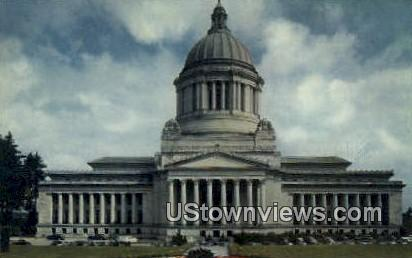 State Captiol Building - Olympia, Washington WA Postcard