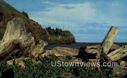 Cape Disappointment, WA     ;     Cape Disappointment, Washington Postcard