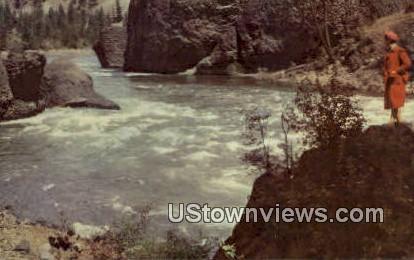 Seven Mile State Park - Spokane, Washington WA Postcard