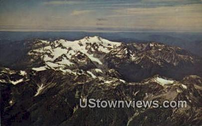 Mount Olympis - Olympic National Park, Washington WA Postcard