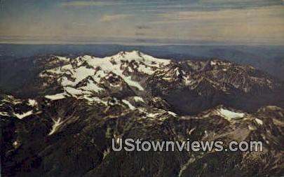 Mount Olympis - Olympic National Park, Washington WA Postcard