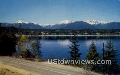 Olympic Mountains, Wash,     ;     Olympic Mountains, WA - Washington WA Postcard