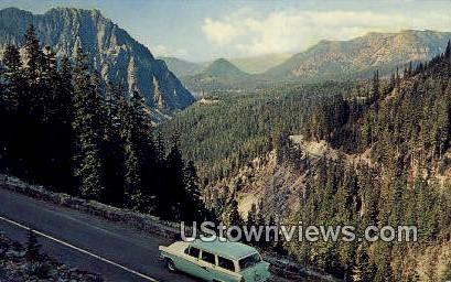 Paradise Road - Inspiration Point, Washington WA Postcard