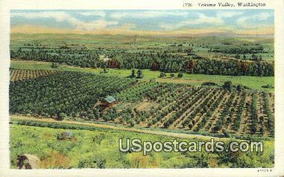 Yakima Valley, WA Postcard      ;      Yakima Valley, Washington