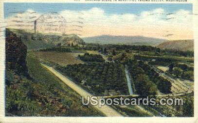 Yakima Valley, Washington Postcard     ;      Yakima Valley, WA