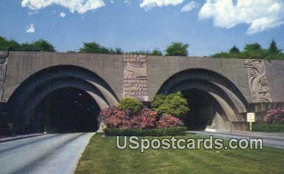 Lake Washington Bridge Tunnel - Lake Washington Floating Bridge Postcards Postcard