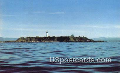 Destruction Island - Washington Seacoast Postcards, Washington WA Postcard
