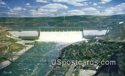 Grand Coulee, Washington Postcard     ;      Grand Coulee, WA